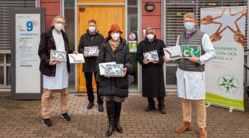 Zusammen gegen den Krebs e. V. - Spendenübergabe-Bildurheber UK Leipzig